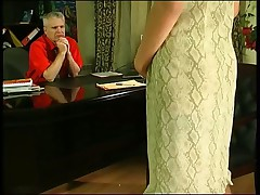 Older Man Cums Big With Young Woman