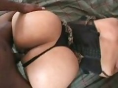 Pounding That Black Cock Down Her Ass
