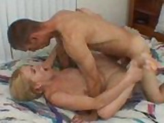 Sexy Blonde Tries A Stranger's Cock