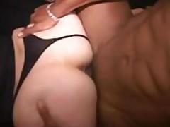 Black Couple Invite A Vanilla MILF
