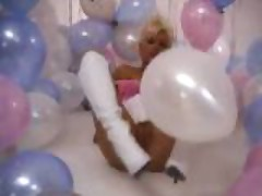 99 Colored Balloons & 1 Blonde