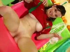 Portuguese Soccer Slut Teases Your Cock