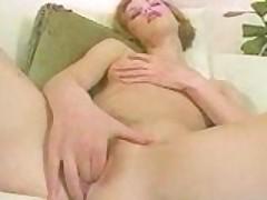 Tight Slut Enjoys Her Fingers!