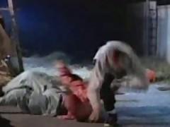 Boxer Taken Down By Bimbo