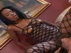 Black Cock Visits Her Black Hole