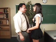 Student and teacher