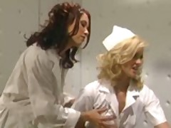 Nurse Takes Good Care Of Her Patient!