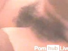 SexyFur from Pornhublive Uses Dildo On Her Hairy Pussy