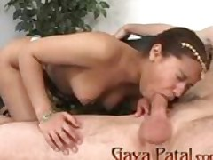 Brunette Slut Throat Fucked