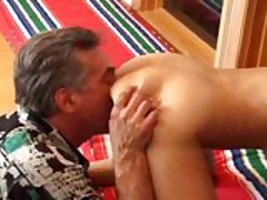 Old Man Vs Tight Fresh Pussy