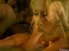 Hot Brunette Eating Out A Hot Blonde