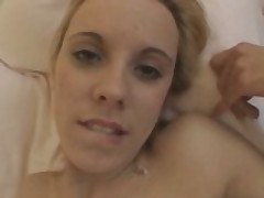 Tight Blonde Slut Rammed By Big Dick