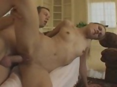 Tight Blonde Slut Rammed By Big Dick