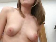 Teen filmed on how naughty she is