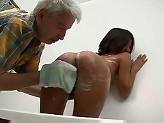 Asian Teen Shaved Licked Fucked Analed And Facialed