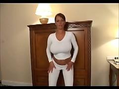 Sexy big-breasted female