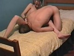 Homemade Couple Bed Fun