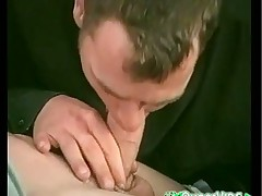 Twink Blowjobs and cumshot