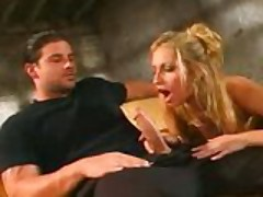 Gorgeous Italian blonde gets nailed