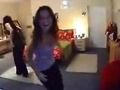 Funny striptease