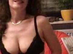 She had milk in her breast