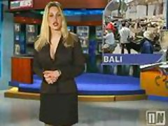 Naked News's Michelle Pantoliano