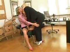 Erotic job interview