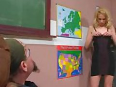 Teacher Brandy Starz gets ruined by crazy clown
