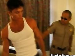 Cop Gets a Blowjob