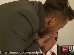 MEN FUCKING IN SUITS