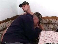 Hot Gay Blowjob