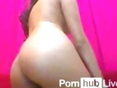 AmazinLatina From Pornhublive Sucks and Plays