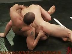 Oily Bondage Match