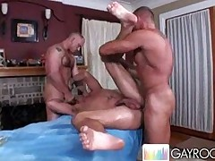 Tyler gets an awesome suprise gay massage.