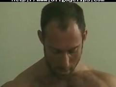 Hunks Office Enterteinment. gay porn gays gay cumshots swallow stud hunk