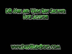 Mike and Wade Raw Shower Session
