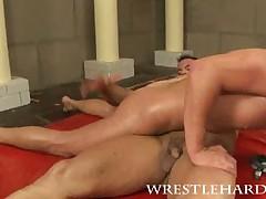 Wrestlers groupsex
