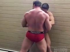 Wrestling hunks