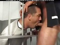Bears Trap In Jail gay porn gays gay cumshots swallow stud hunk