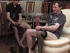 An Unforgettable Evening In Pantyhose Pjm gay porn gays gay cumshots swallo
