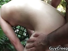 David Chase gets outdoor ass fucking part1