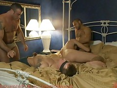 Trent Diesel gets tied up, beaten and gangbanged at Helios Resort