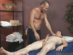 One hard cock massage