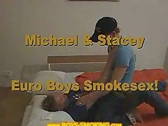 MICHAEL AND STACEY SMOKING