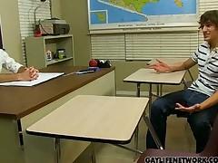 Horny Student Cheats with the Teacher
