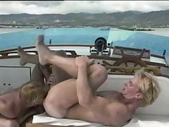 Yacht fucking.