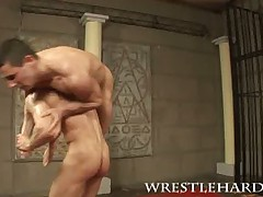 Muscleworshipped and fucked