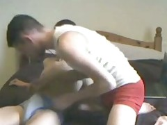 suce entre potes two arabian mates having blowjob
