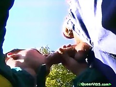 Boys Sucking Cock Outdoors