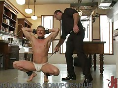 Spencer Reed trains his real-life partner Phillip Aubrey
